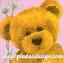กระดาษสาพิมพ์ลาย Rice Paper สำหรับทำงาน เดคูพาจ Decoupage แนวภาพ หมี เท็ดดี้ Teddy bear กับดอกไม้สีขาว บนพื้นสีชมพู ปลาดาวดีไซน์ thumbnail 1